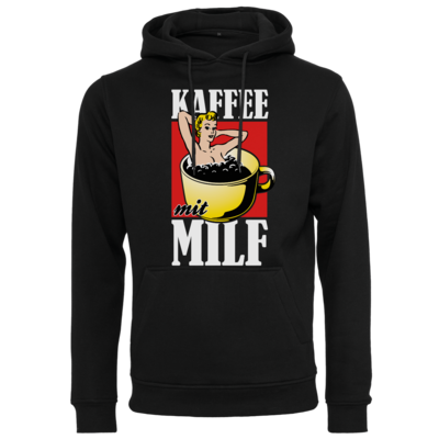 Motiv: Heavy Hoodie - Kaffee mit MILF