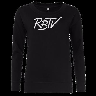 Motiv: Girlie Crew Sweatshirt - RBTV - Oldschool Logo