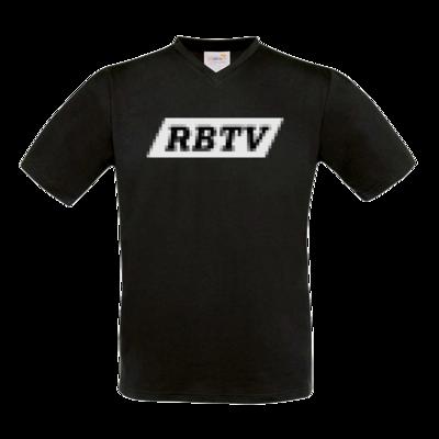 Motiv: T-Shirt V-Neck FAIR WEAR - Pixel RBTV