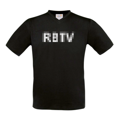 Motiv: T-Shirt V-Neck FAIR WEAR - Pixel 2.0 RBTV