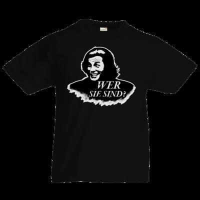 Motiv: Kids T-Shirt Premium FAIR WEAR - Spiele mit Bart - Wer Sie sind