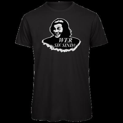 Motiv: Organic T-Shirt - Spiele mit Bart - Wer Sie sind