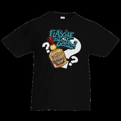 Motiv: Kids T-Shirt Premium FAIR WEAR - Rob Boss - Flasche zu Geld