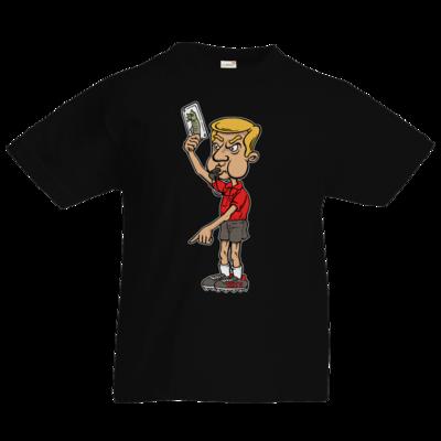 Motiv: Kids T-Shirt Premium FAIR WEAR - Rob Boss - Schiedsrichter Fischkarte