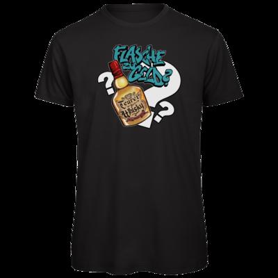 Motiv: Organic T-Shirt - Rob Boss - Flasche zu Geld