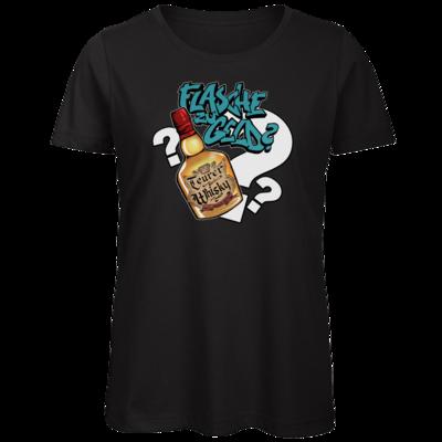 Motiv: Organic Lady T-Shirt - Rob Boss - Flasche zu Geld