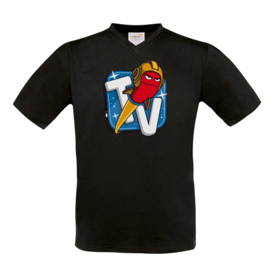 Motiv: T-Shirt V-Neck FAIR WEAR - Senderlogo