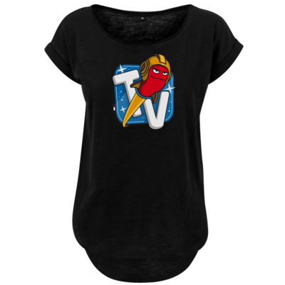 Motiv: Ladies Long Slub Tee - Senderlogo