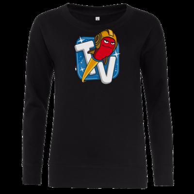 Motiv: Girlie Crew Sweatshirt - Senderlogo