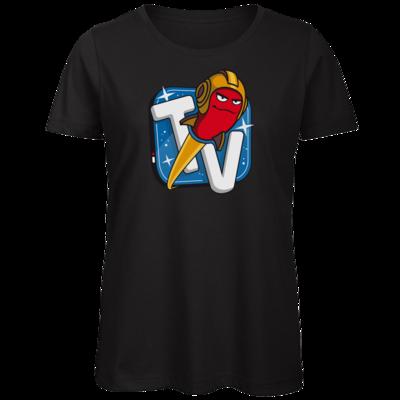 Motiv: Organic Lady T-Shirt - Senderlogo