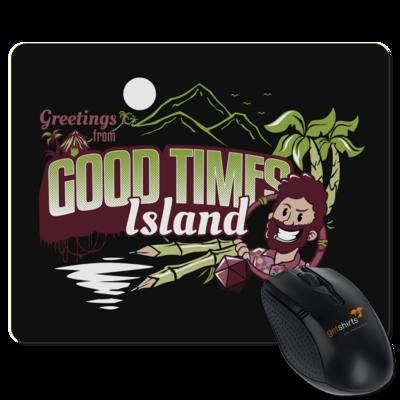 Motiv: Mousepad Textil - Pen & Paper - Good Times Island