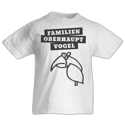 Motiv: Kids T-Shirt Premium FAIR WEAR - Familienoberhauptvogel