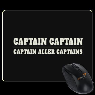 Motiv: Mousepad Textil - Captain Captain Captain aller Captains