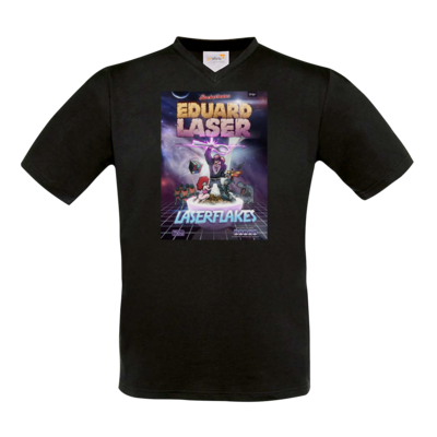 Motiv: T-Shirt V-Neck FAIR WEAR - Eduard Laser Flakes