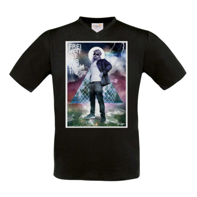 Motiv: T-Shirt V-Neck FAIR WEAR - Eduard Laser - FIMW