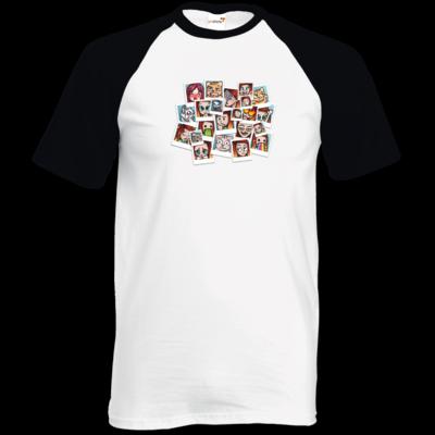 Motiv: TShirt Baseball - Inzaynia - Emotes