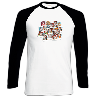 Motiv: Longsleeve Baseball T - Inzaynia - Emotes