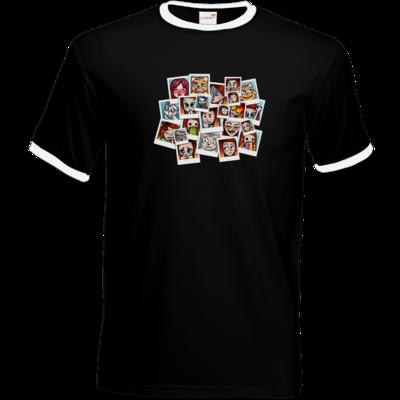 Motiv: T-Shirt Ringer - Inzaynia - Emotes
