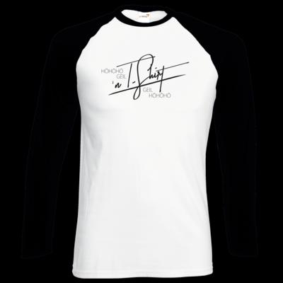 Motiv: Longsleeve Baseball T - Inzaynia - Shirt