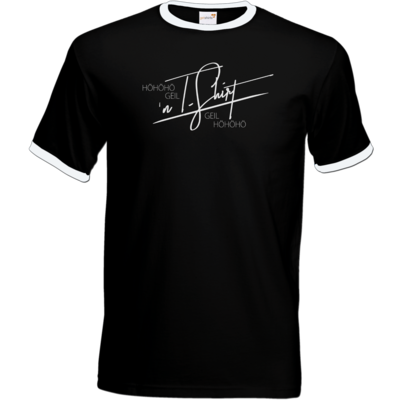 Motiv: T-Shirt Ringer - Inzaynia - Shirt