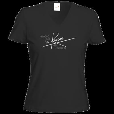Motiv: T-Shirts Damen V-Neck FAIR WEAR - Inzaynia - Kissen