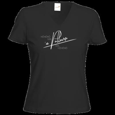 Motiv: T-Shirts Damen V-Neck FAIR WEAR - Inzaynia - Pullover