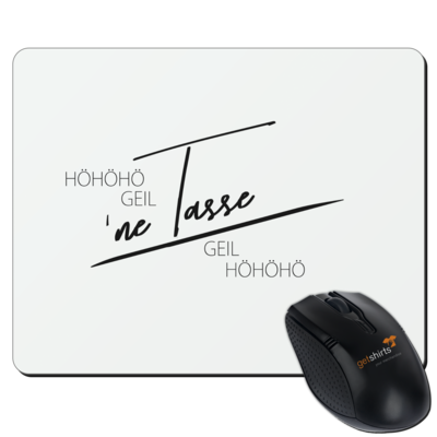 Motiv: Mousepad Textil - Inzaynia - Tasse