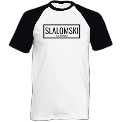 Motiv: TShirt Baseball - Inzaynia - Slalomski