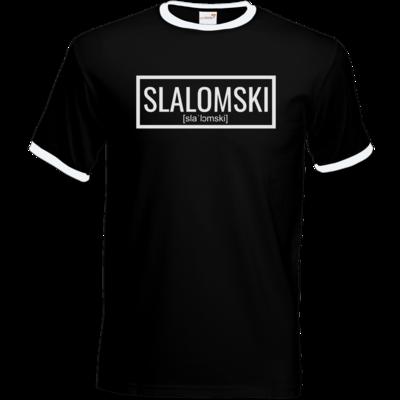 Motiv: T-Shirt Ringer - Inzaynia - Slalomski