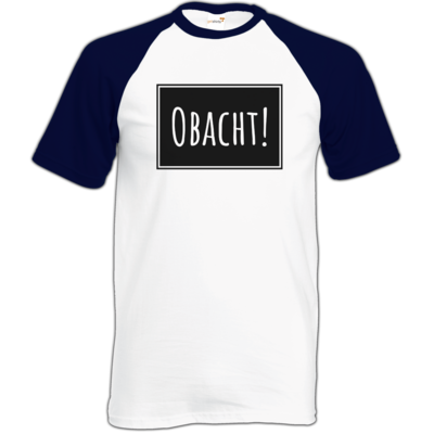 Motiv: Baseball-T FAIR WEAR - Obacht