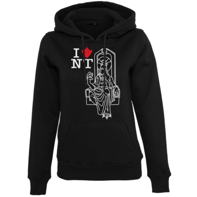 Motiv: Womens Heavy Hoody - I LOVE Enterator 2.0