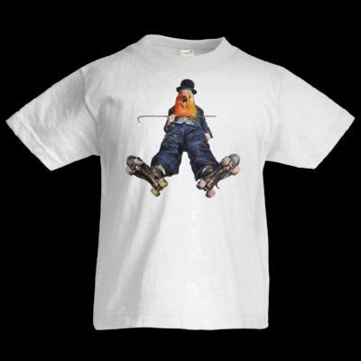 Motiv: Kids T-Shirt Premium FAIR WEAR - Vogelmenschen - Chaplinfink