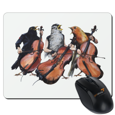 Motiv: Mousepad Textil - Vogelmenschen - Akopalützika