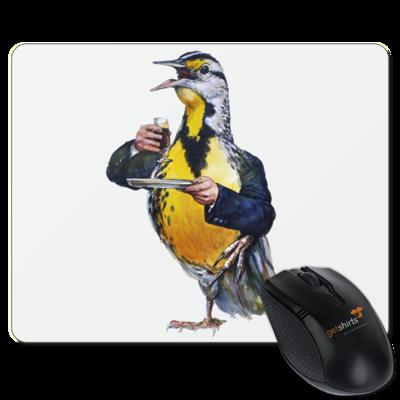 Motiv: Mousepad Textil - Vogelmenschen - Schnapsdrossel