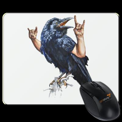 Motiv: Mousepad Textil - Vogelmenschen - Wacköön