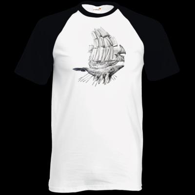 Motiv: TShirt Baseball - Sea Shepherd Support - Buchwal