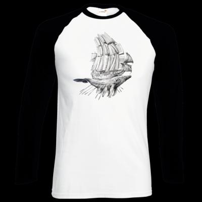 Motiv: Longsleeve Baseball T - Sea Shepherd Support - Buchwal