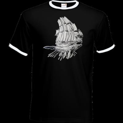 Motiv: T-Shirt Ringer - Sea Shepherd Support - Buchwal