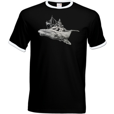 Motiv: T-Shirt Ringer - Sea Shepherd Support - Steve Irwin