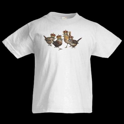 Motiv: Kids T-Shirt Premium FAIR WEAR - Vogelmenschen - Quatuor Coronati
