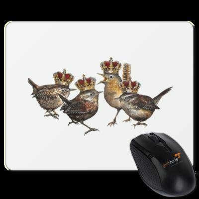 Motiv: Mousepad Textil - Vogelmenschen - Quatuor Coronati