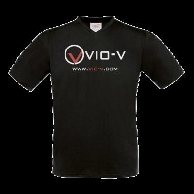 Motiv: T-Shirt V-Neck FAIR WEAR - Vio Entertainment - Logo 2