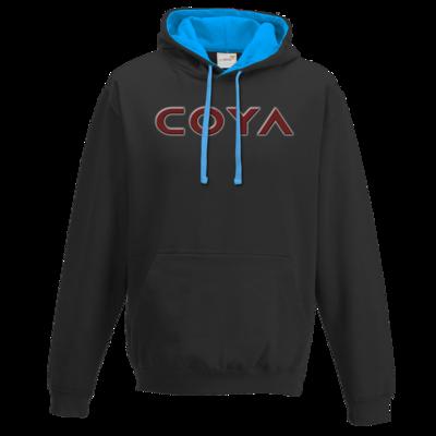 Motiv: Two-Tone Hoodie - Coya Logo
