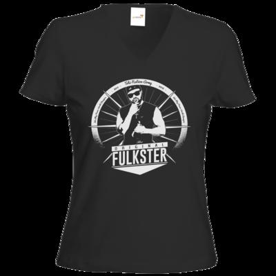 Motiv: T-Shirts Damen V-Neck FAIR WEAR - Original Fulkster