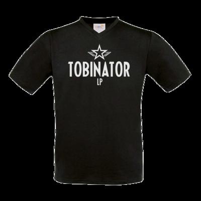 Motiv: T-Shirt V-Neck FAIR WEAR - Tobinator