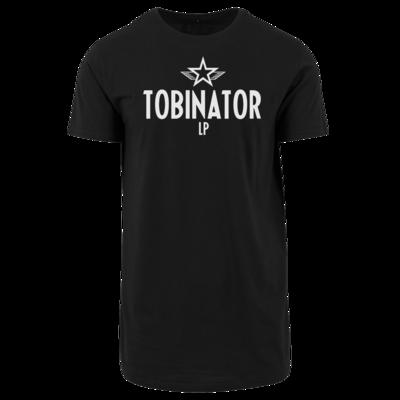 Motiv: Shaped Long Tee - Tobinator