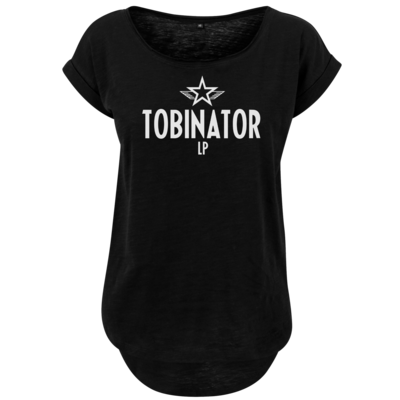 Motiv: Ladies Long Slub Tee - Tobinator