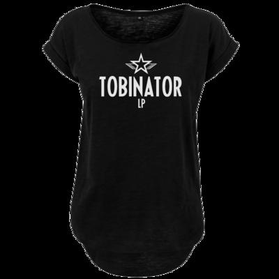 Motiv: Ladies Long Slub Tee - Tobinator
