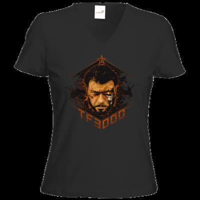 Motiv: T-Shirts Damen V-Neck FAIR WEAR - TF3000