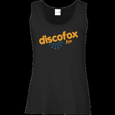 Motiv: Tank Top Damen Classic - Discofox FM - Logo XL